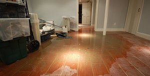 Water Damage Long Beach Finished Basement