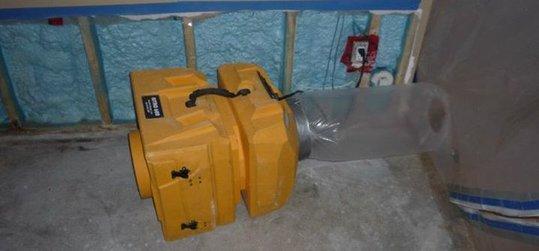 Water damage Long Beach equipment